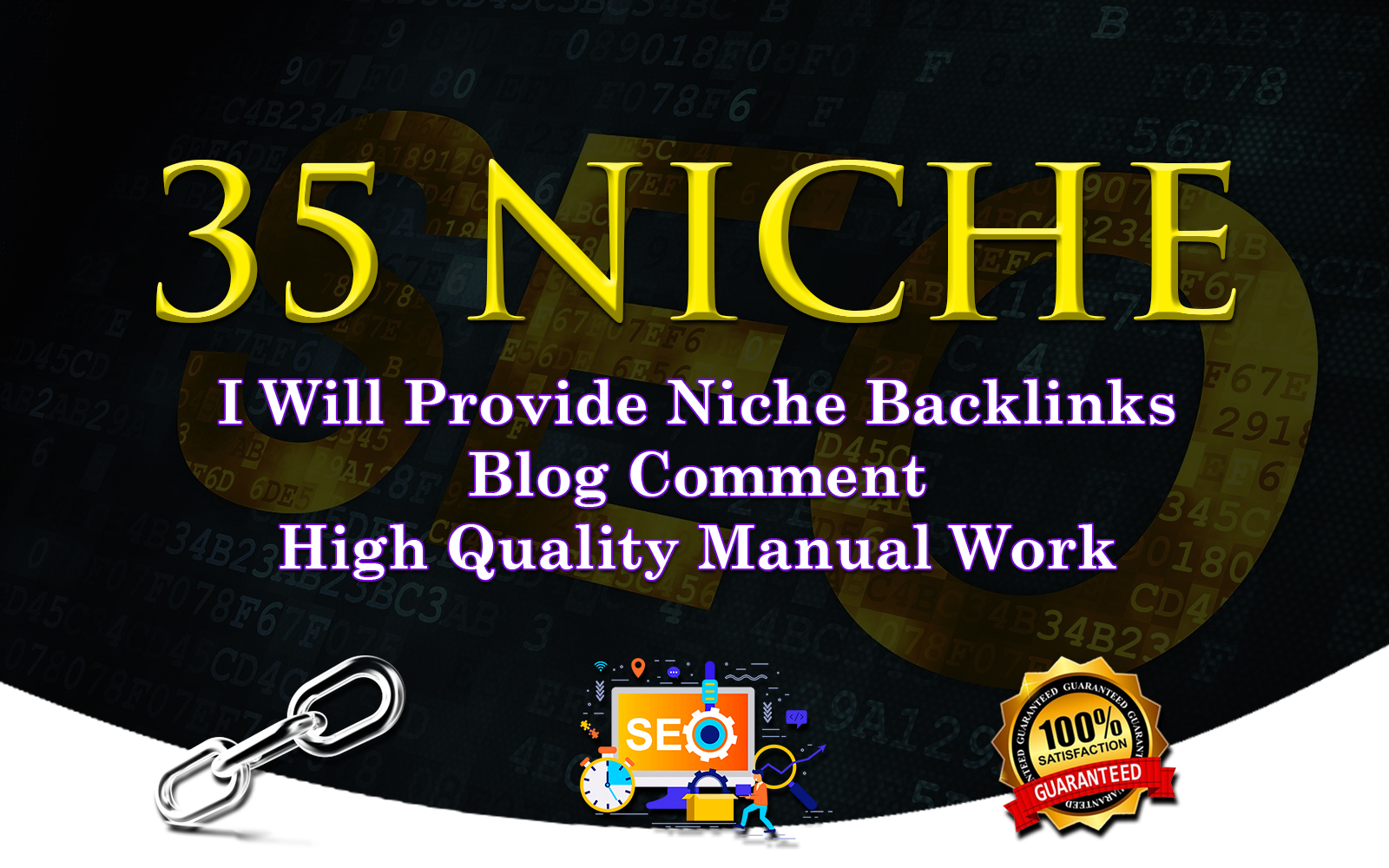 I Will Do 35 Niche Relevant Blog Comment Service.