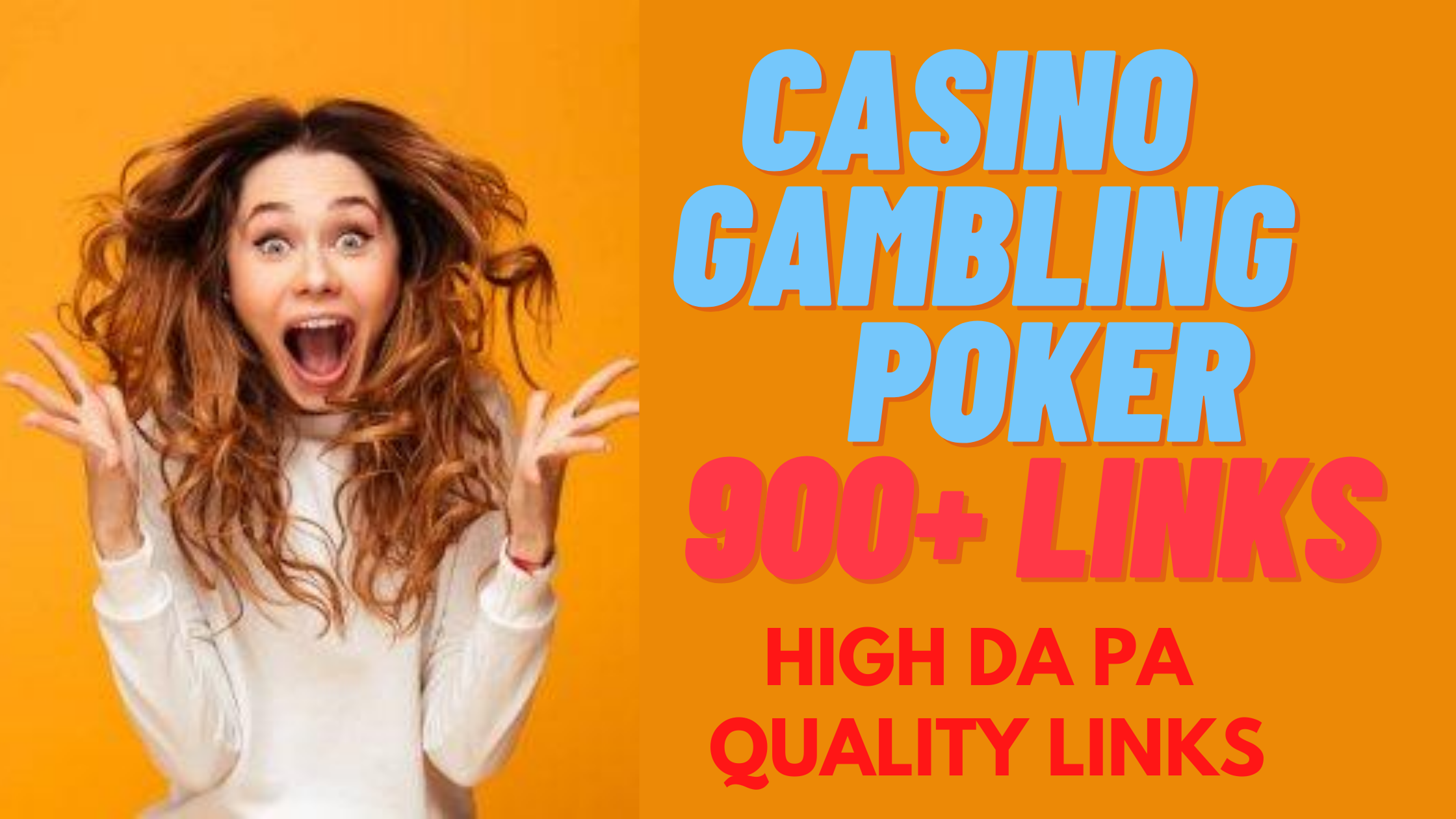 I Will Create ADULT & CASINO 925+ High DA PA Tired Backlinks to Boost Your Google Ranking Quickly