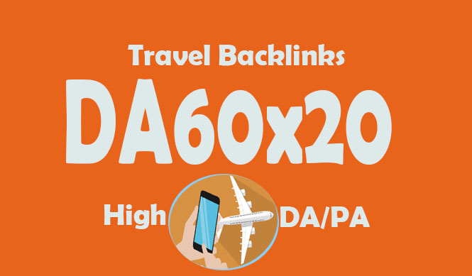 Give link DA60x20 site Travel blogroll permanent