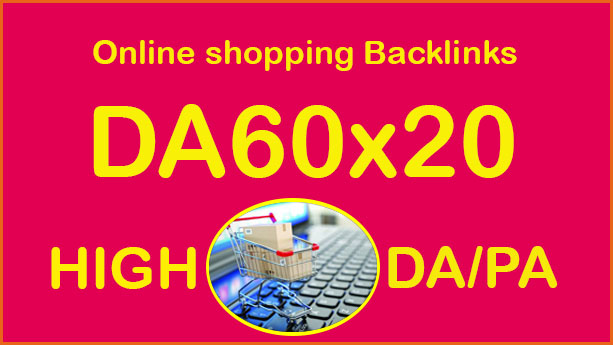 Put to DA60x20 Online shopping sites blogroll permanent