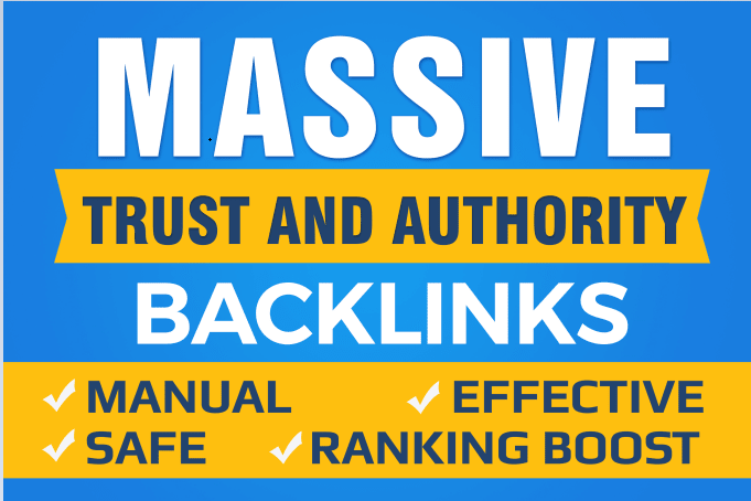 130 Manually white hat links with education backlinks for website seo