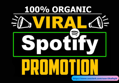 I will provide album playlist artist promotion for music