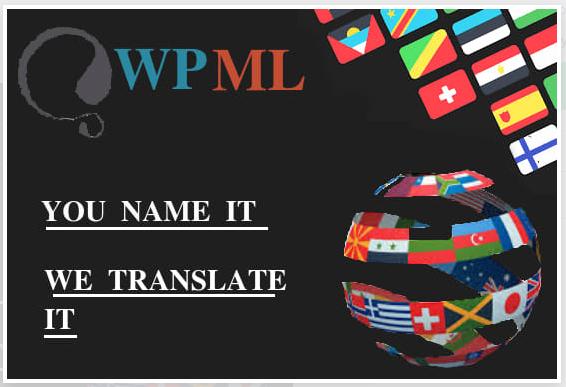 Do Translate WordPress website manually by WPML Multi Language CMS