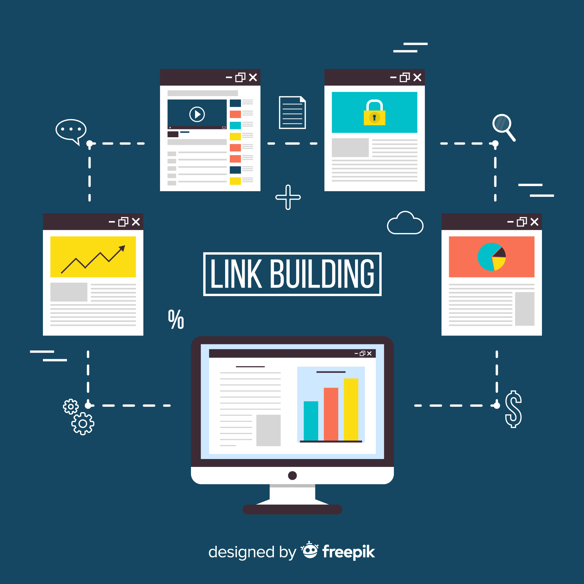 I will generate 100 Backlinks for your domain