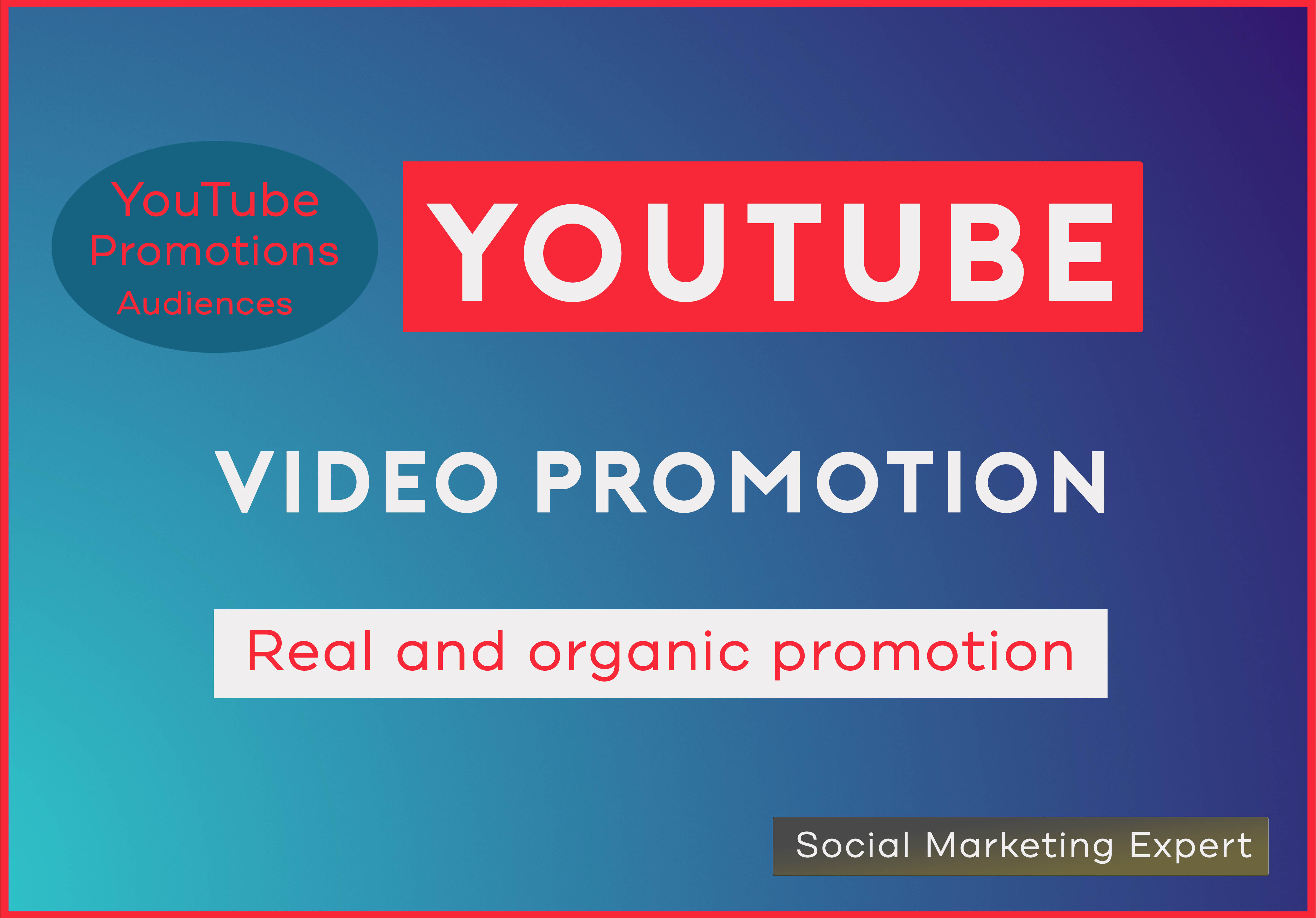 Do YouTube Video Promotion Organically to go Viral