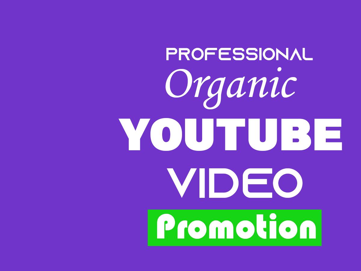 Professional YouTube Promotion on YouTube