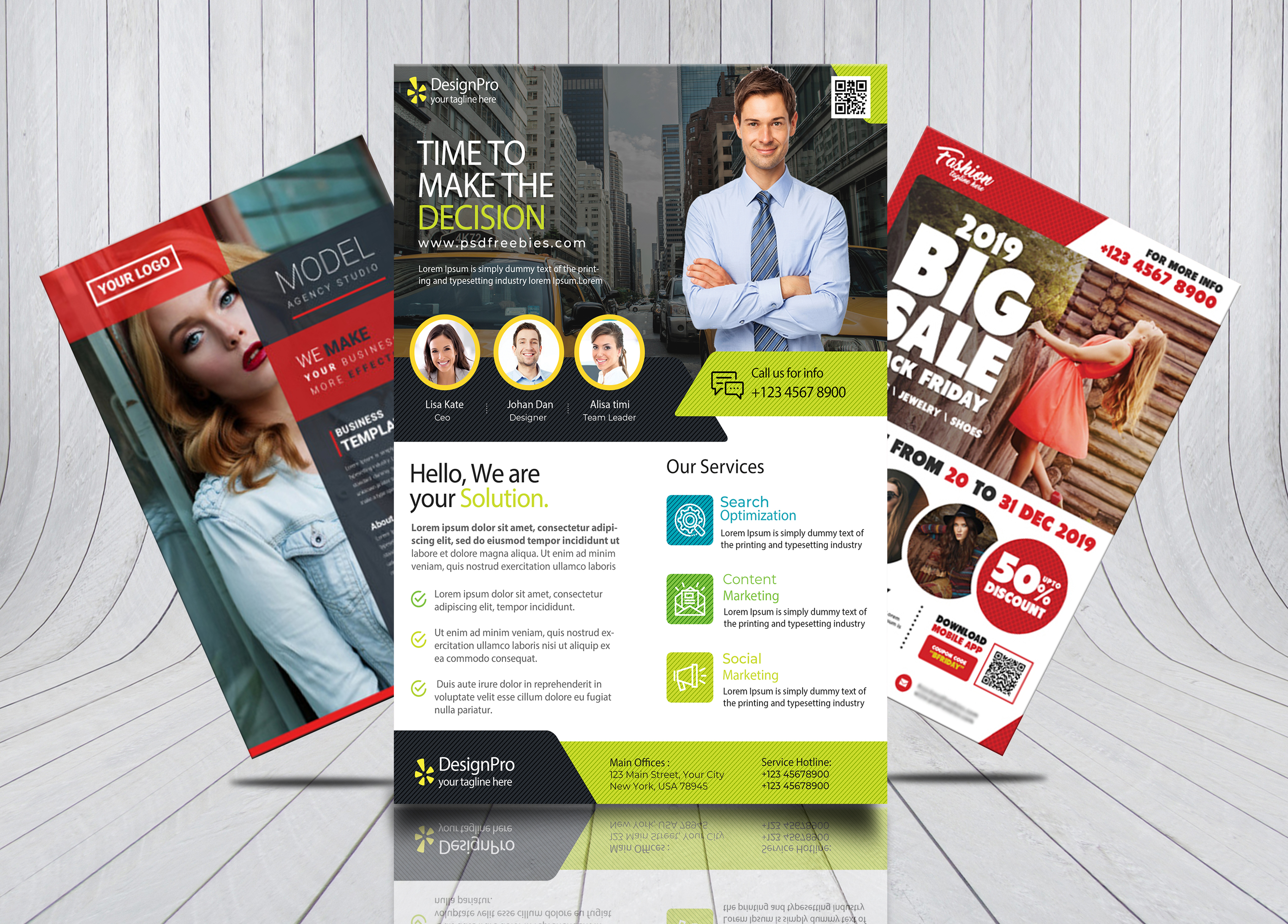 Design Amazing Flyer,  Brochure,  Poster