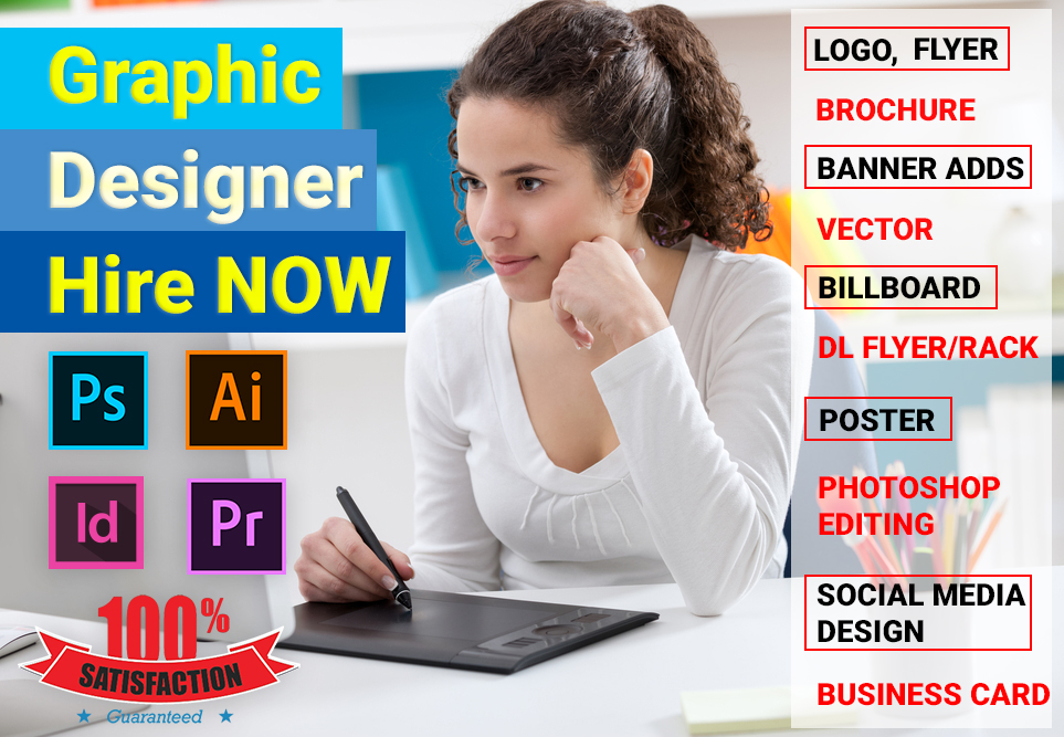 Creative Graphic Designer Hire now