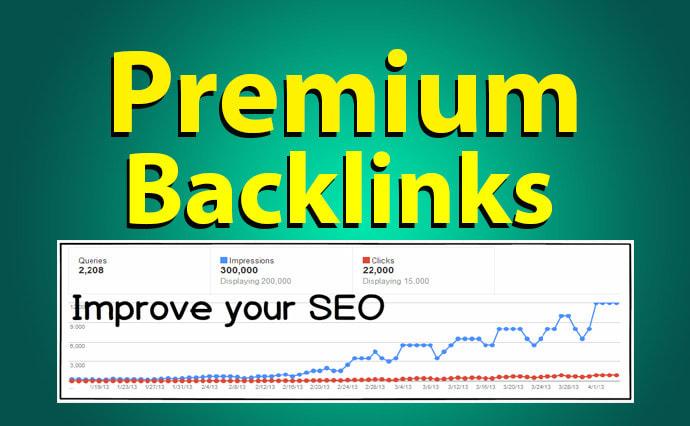 Sky Rocket Google Ranking with Premium Do Follow SEO backlinks