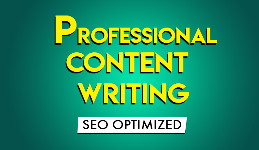 Will write SEO Optimized Content for Your Web