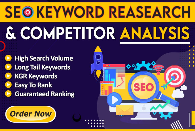 I will do effective SEO keyword research and competitor analysis easy ranking