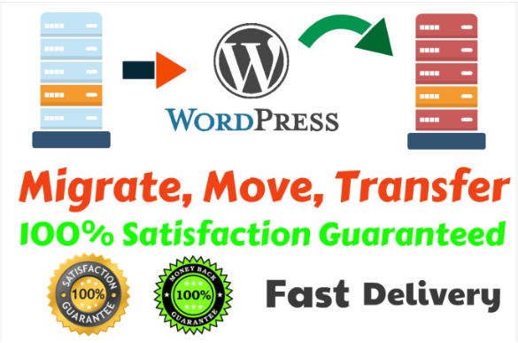 I will move,  migrate or transfer your wordpress website in a few hours