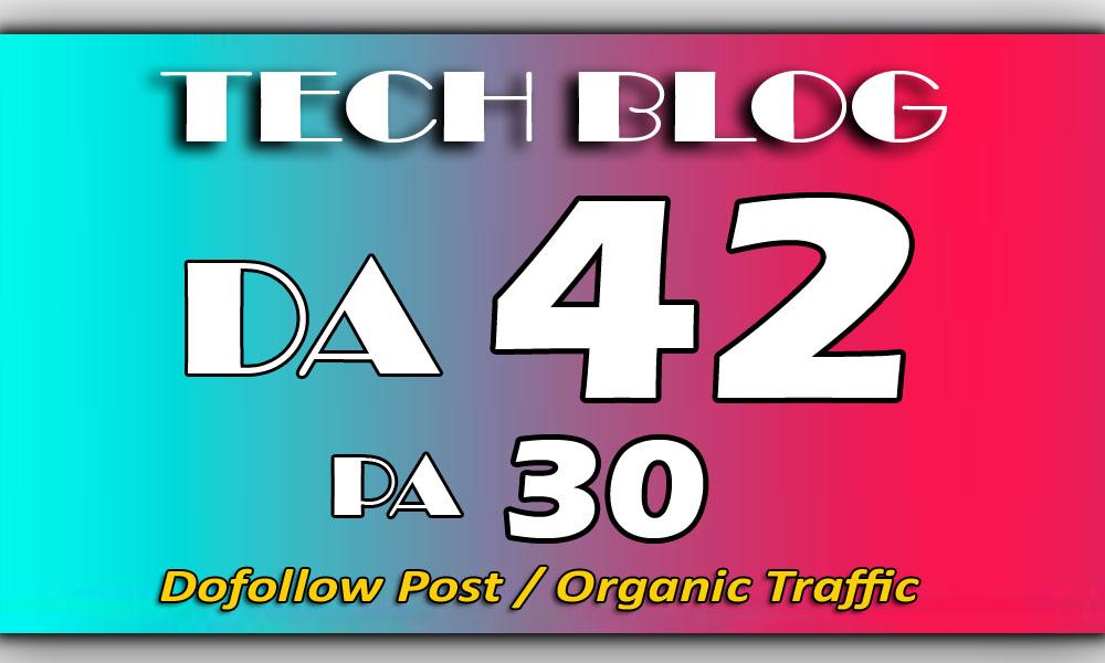 Guest Post on my TECH Blog DA-42