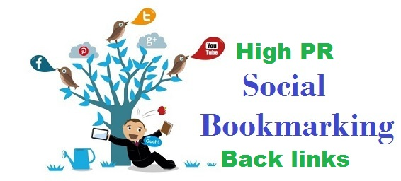 I will create 15 manually social bookmaking back links in high da sites