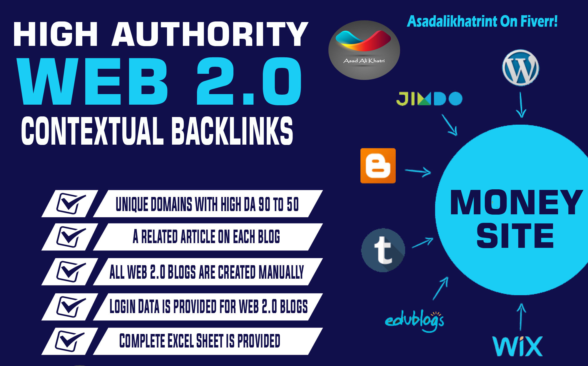 I will handmade 200+ web 2.0 buffer blog backlinks with login unique content