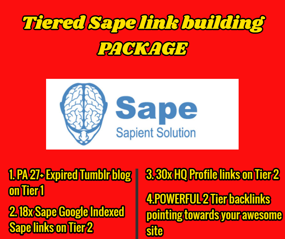 STEROID Tiered TF 20 DA 20 Sape link building