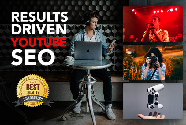 We will be your youtube video SEO specialist