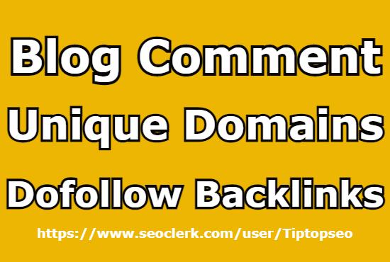 I will create 100 unique domains dofollow backlinks