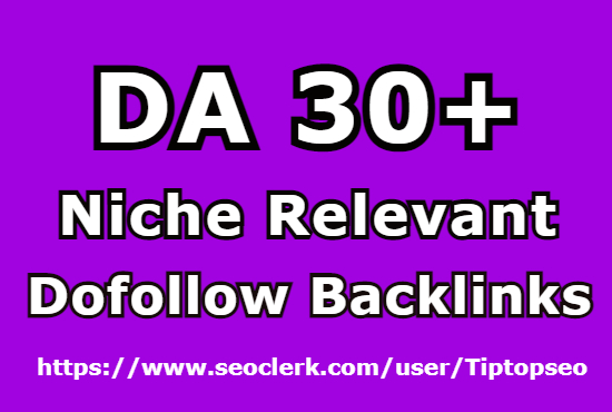 I will create 20 niche relevant dofollow comment backlinks from DA 30+ Sites
