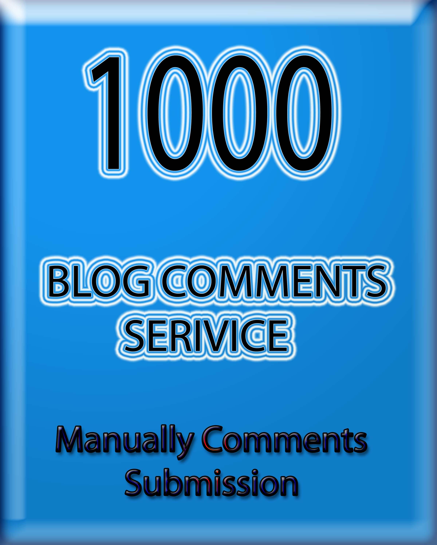 do 1000 blog comments with 200 plus unique domains