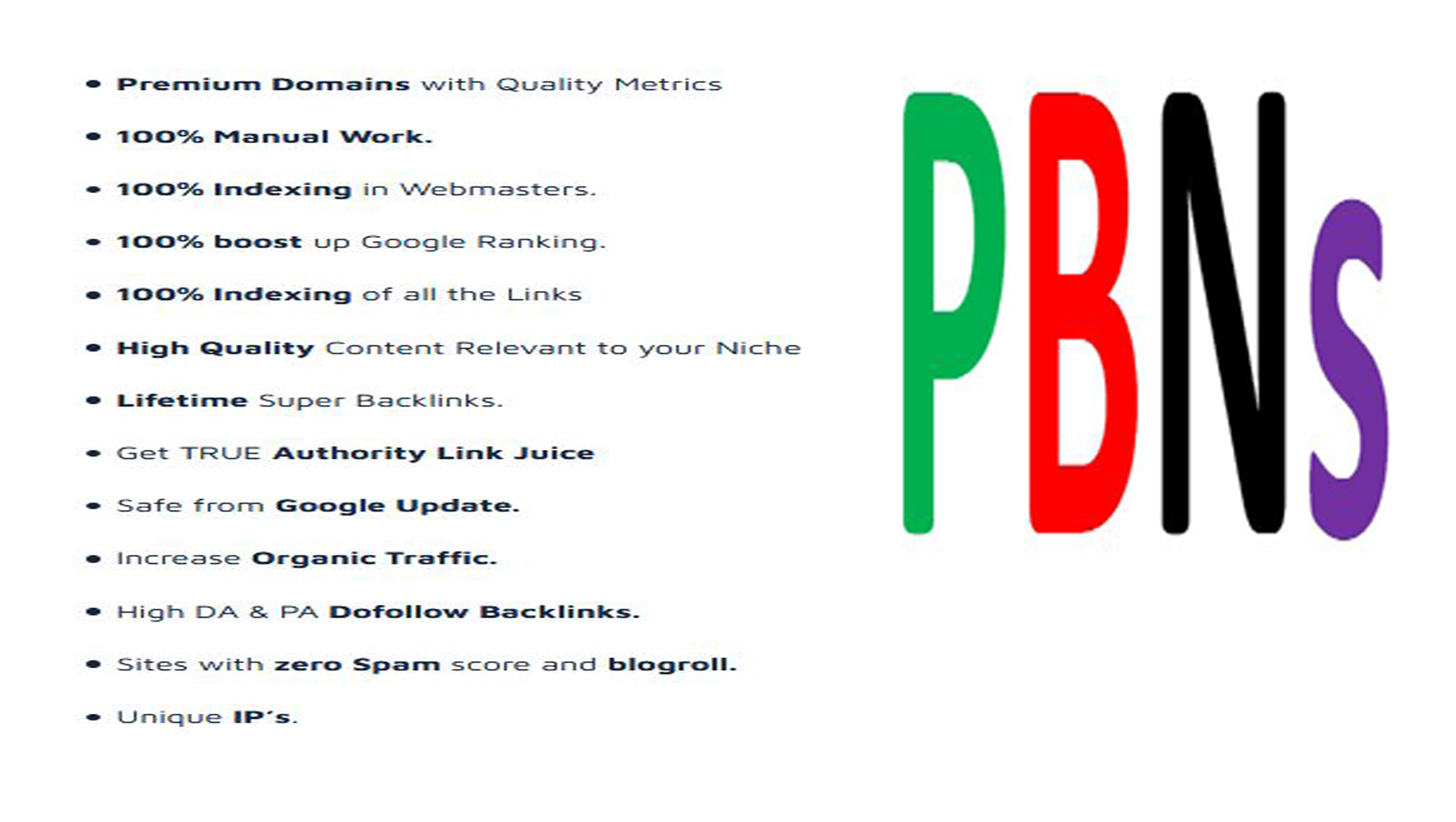 Rank with 3 DR66+ Homepage permanent PBN Do Follow backlinks