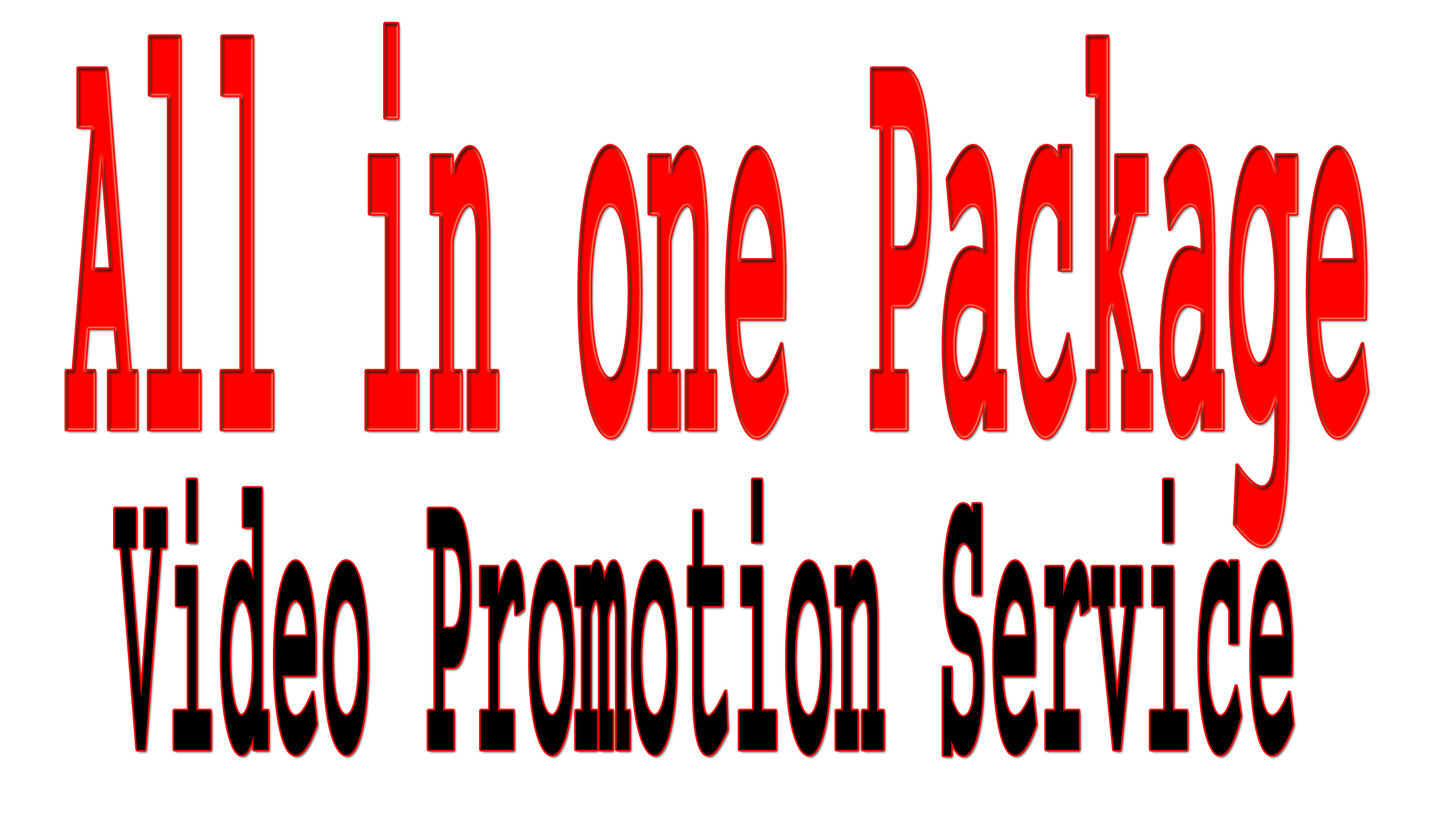 Rank with High Quality YouTube Video Promotion Package