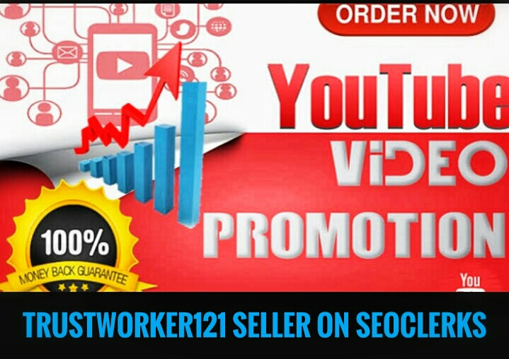 Promoted 110+ video likes social media marketing