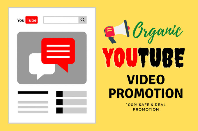 I will do viral promotion and marketing for youtube video