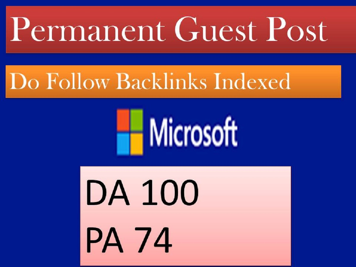 guest post on microsoft high da 100 to increase domain authority