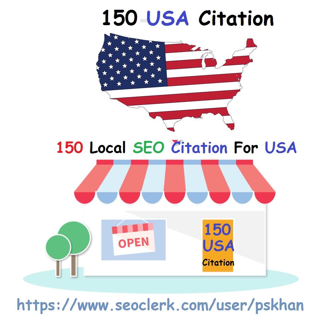 150 Local SEO Citation For USA