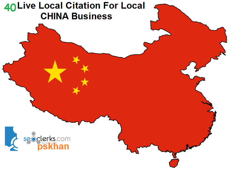Create 40 Live Local Seo Citations For Local CHINA Business