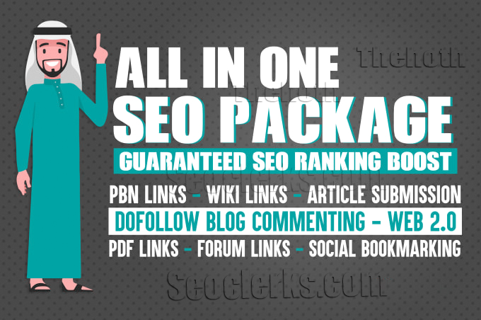 Monthly SEO white hat backlinks