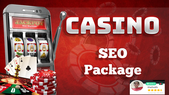 Gambling SEO Package For Casino Websites