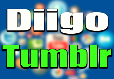 Unique Profile 80 Diigo 30 Tumblr PR9 Site With Manual SEO Backlink