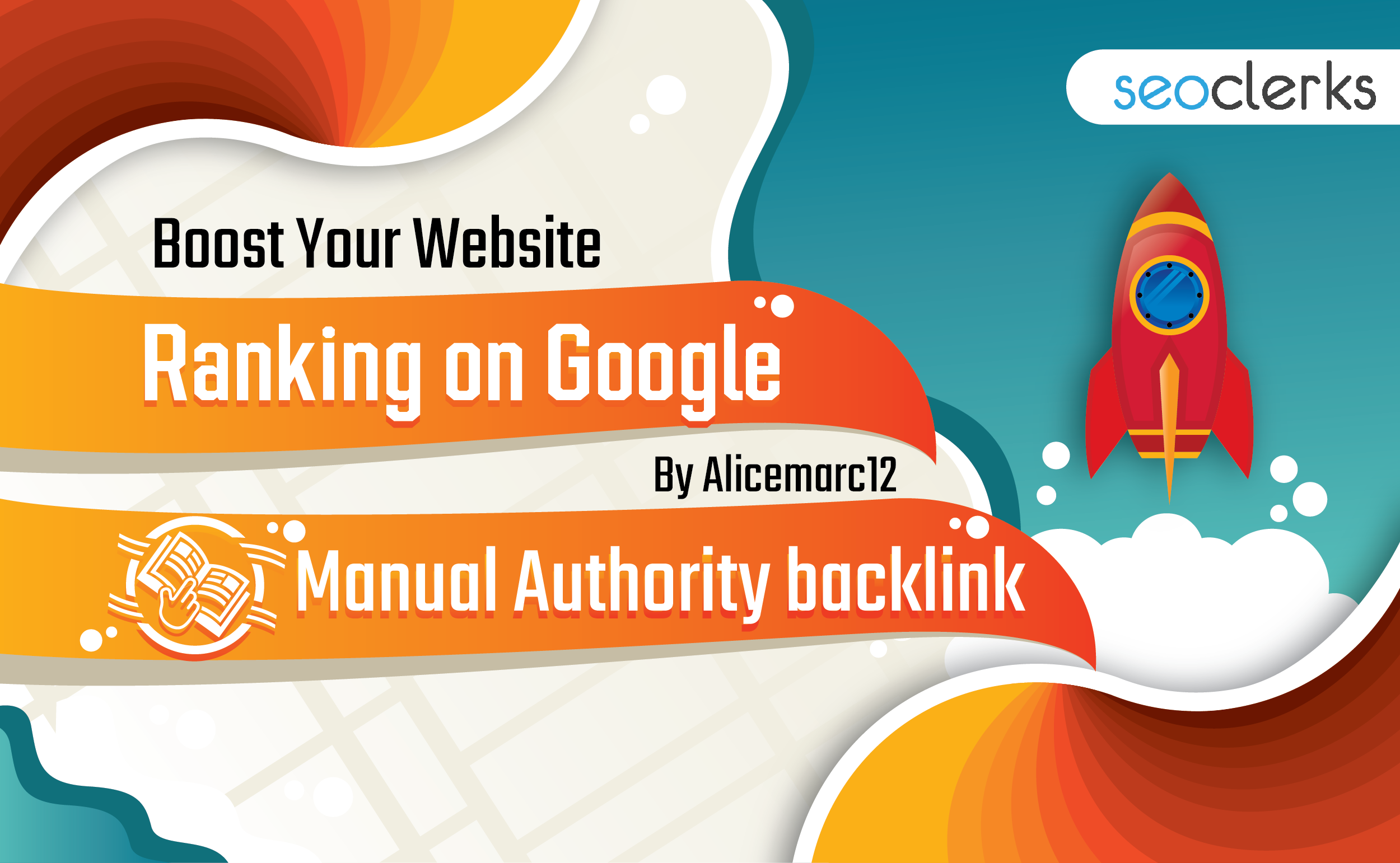 Buy 2 Get 1 Free - Boost Your Website Ranking on Google By Alicemarc12 Manual Authority Backlinks