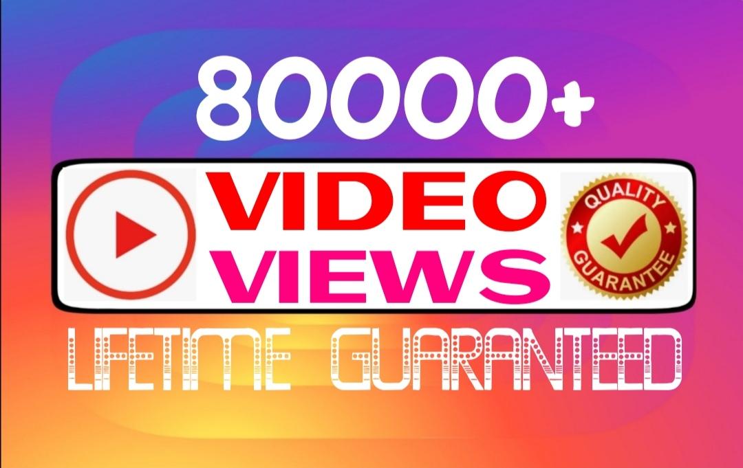 Add 80000+ worldwide video promotion professionally
