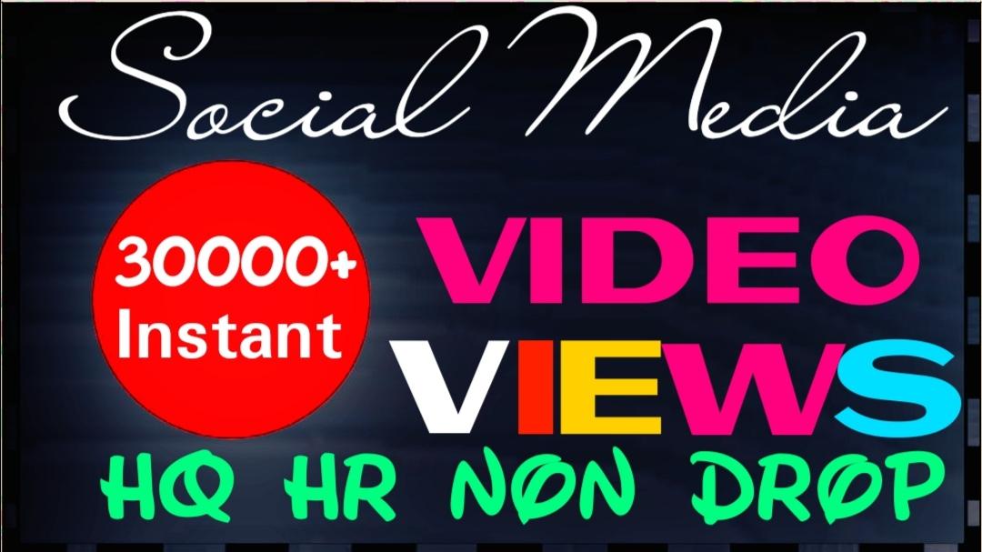 Add 30000+ worldwide video promotion professionally
