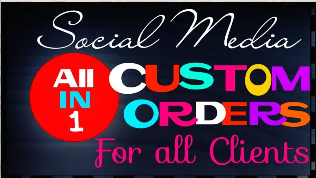 Add any Services as custom orders Instantly