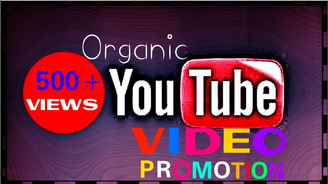 Provide HQ,  HR,  Non Drop ytube Video Promotion Instantly