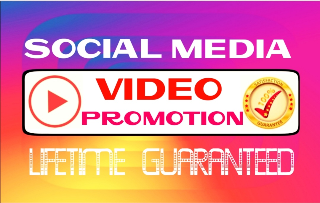 Add 50000+ Social video Promotion Instantly and Professionally