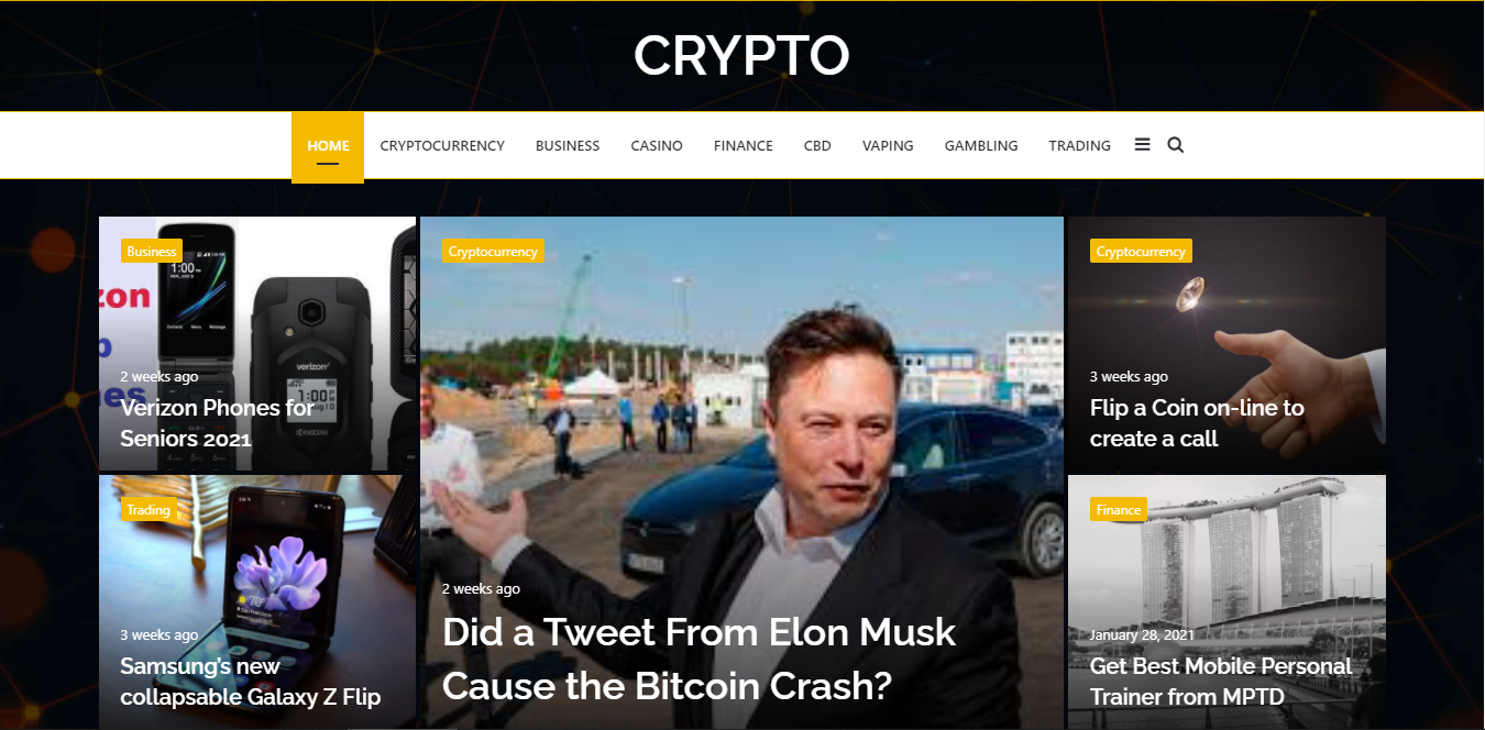 Publish Guest post on Premium Crypto site cryptothoughts. co. uk DA60 PA35