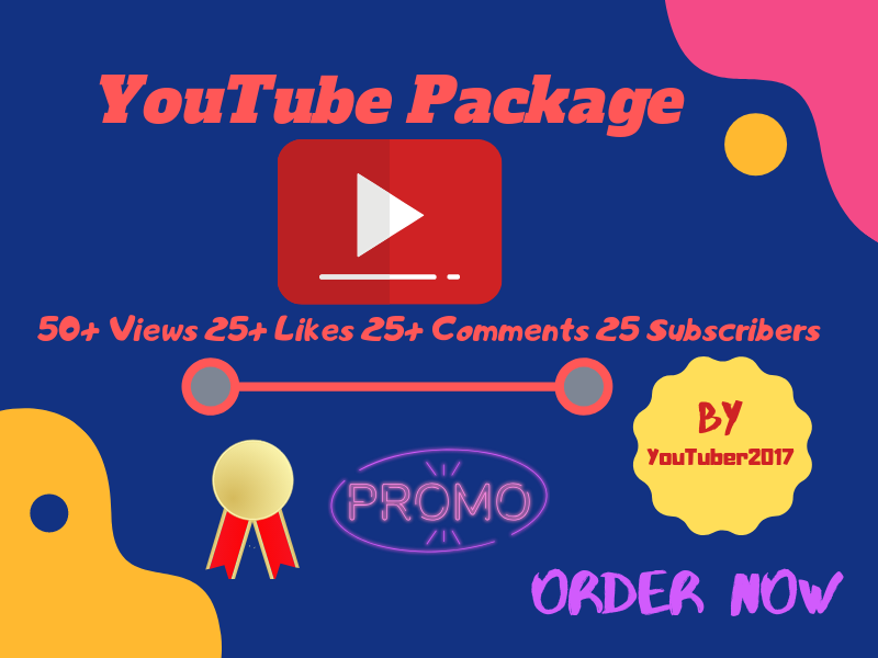 You will get mixed YouTube package all in one