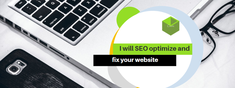 I will do SEO optimize and fix your website for google ranking