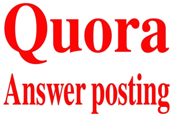 Get manually 8 Quora answer & backlink service