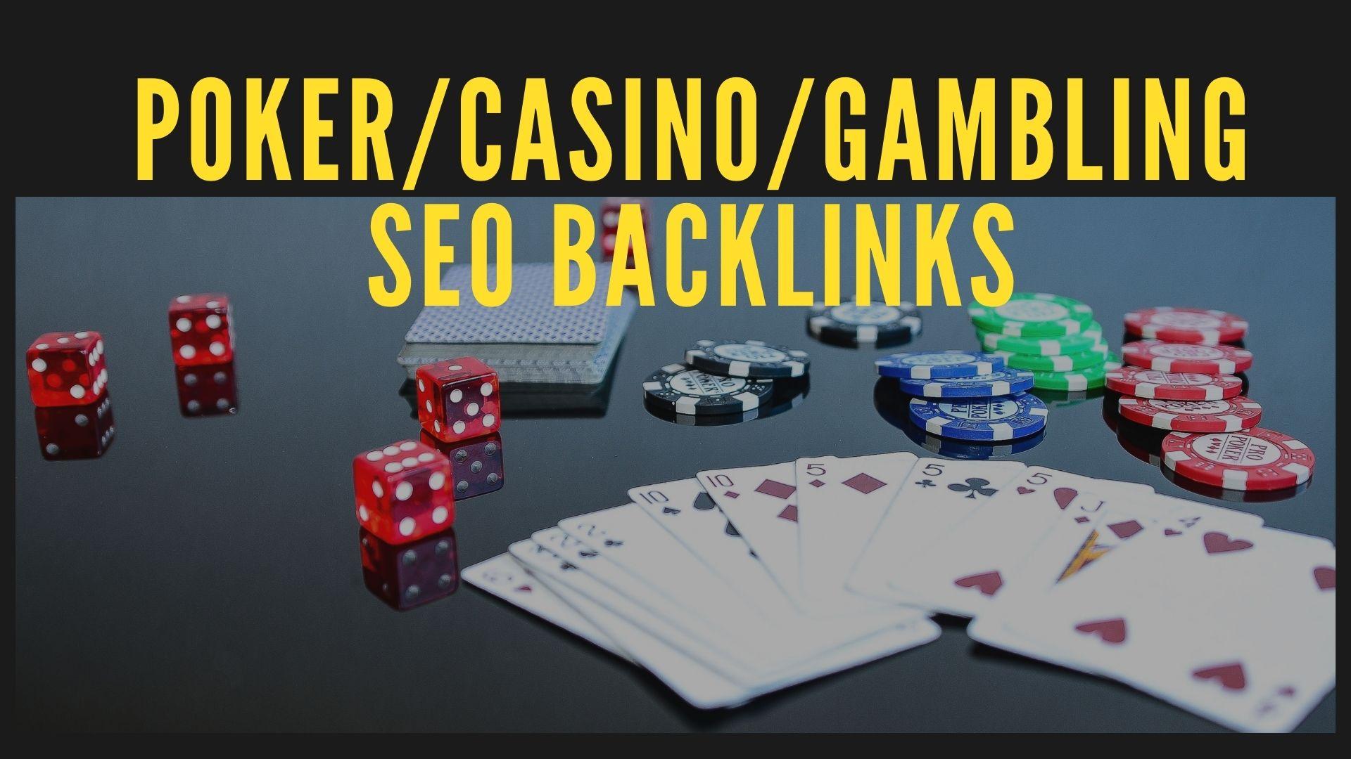 920+ Poker/Casino/gambling SEO Backlinks Pyramid for Fast Google Ranking