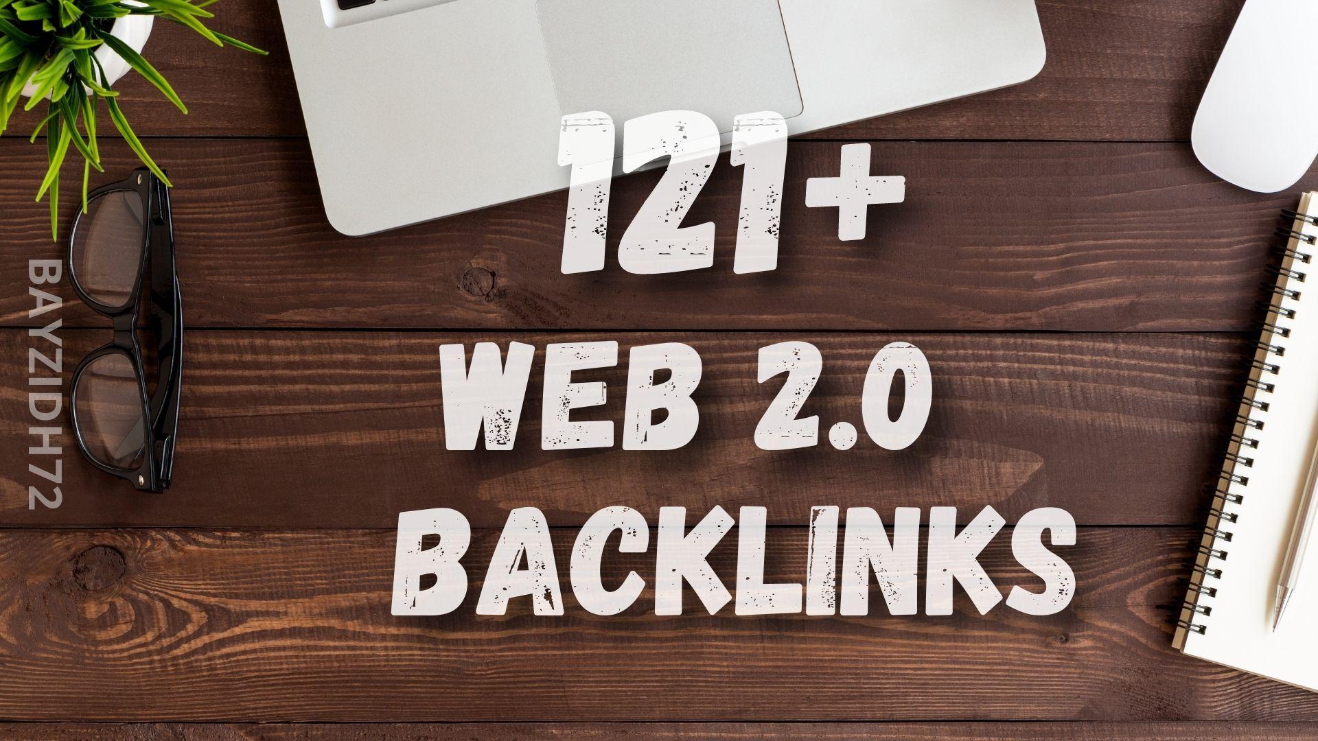 I will make 121+ web 2.0 backlinks for SEO promotion