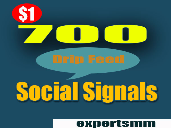Do Google SEO With 700 Manual High Authority Social signals