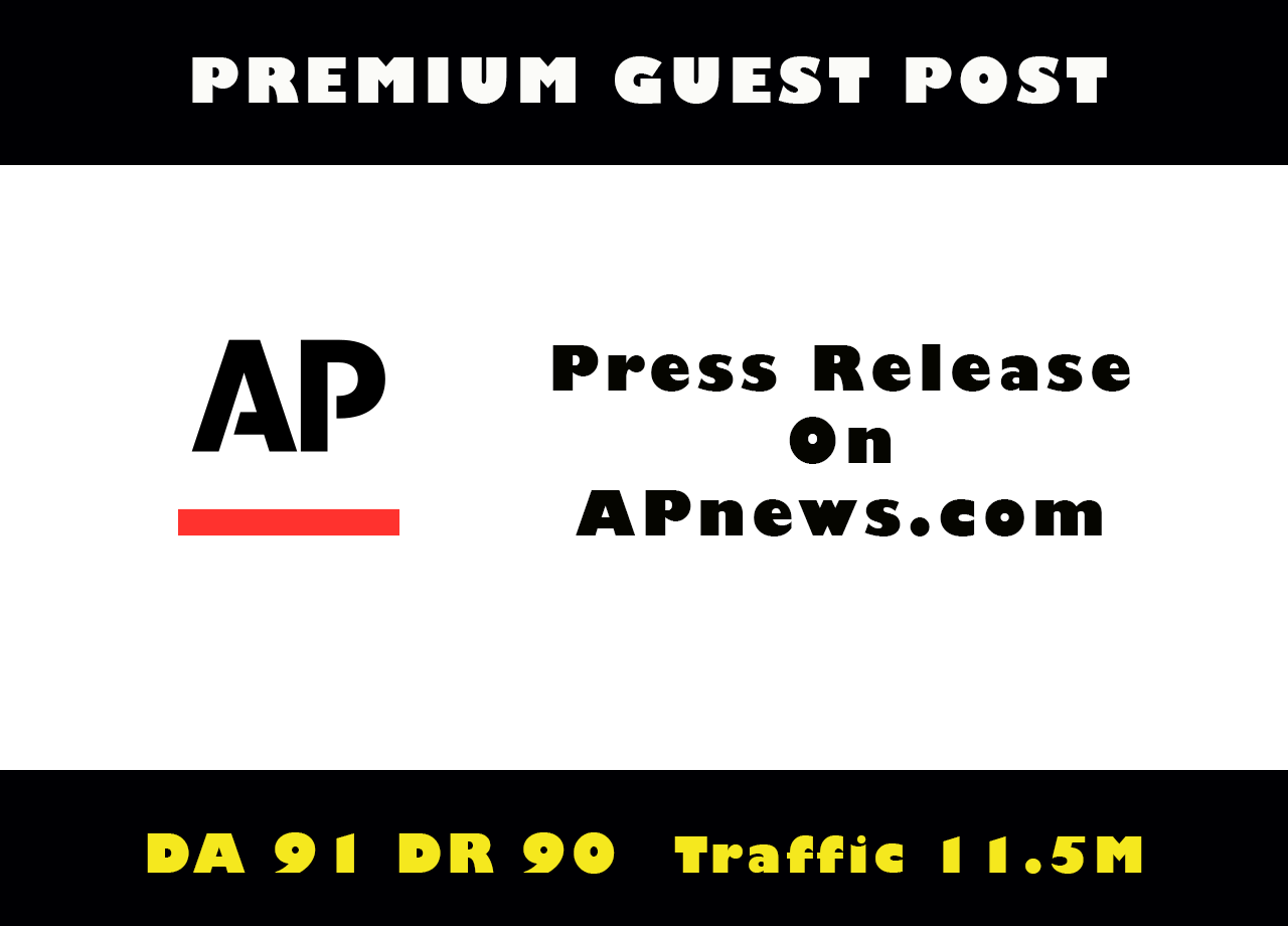 Publish Guest Post/Press Release on Apnews,  Apnews. com DA 92