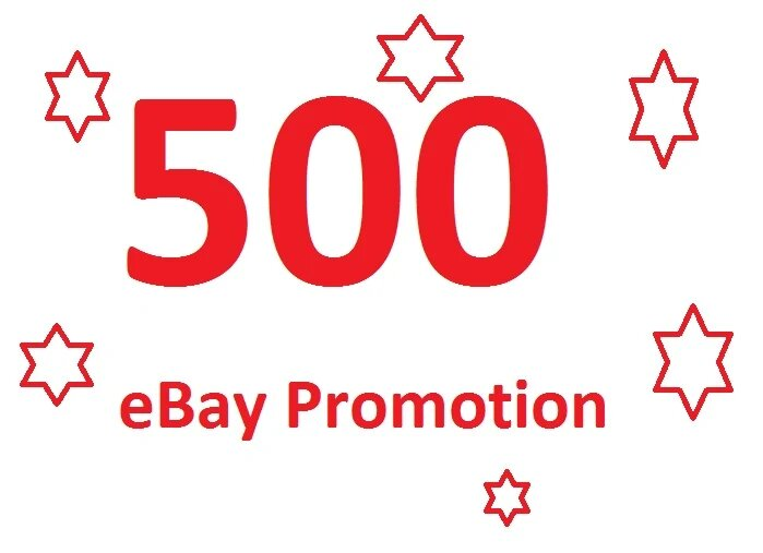 I will promote your ebay store up to 6OO watchers to get more sales