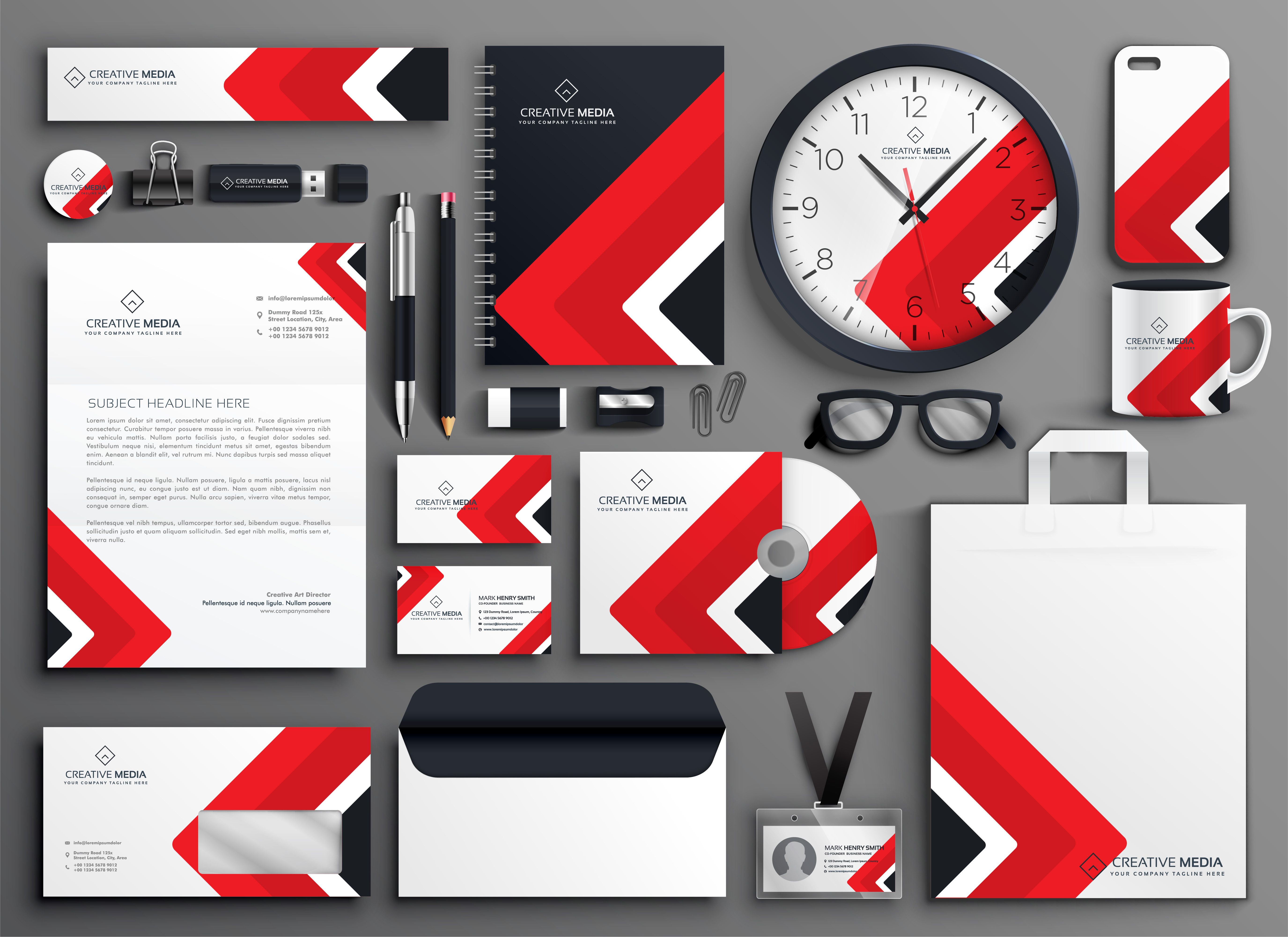 I will design business card letterhead and branding stationery items